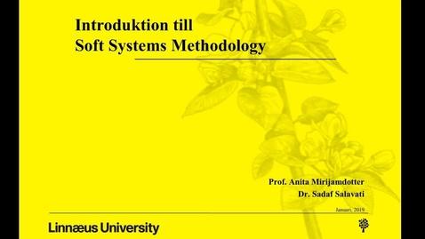 Miniatyr för mediepost Introduktion till Soft Systems Methodology