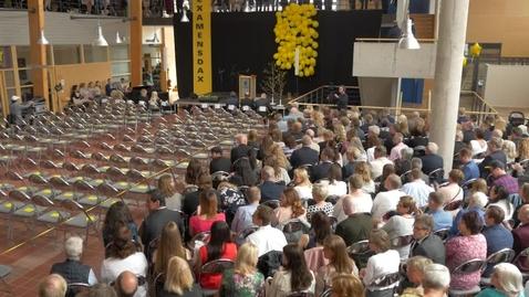 Miniatyr för mediepost Graduation Ceremony at the Faculty of Technology 2017