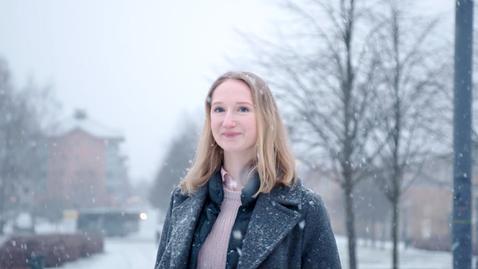 Miniatyr för mediepost Fredrika läser Statsvetarprogrammet