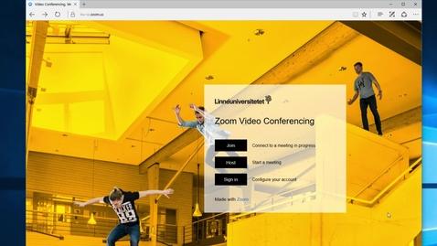 Miniatyr för inlägg Kom i gång med Zoom / Get started with Zoom