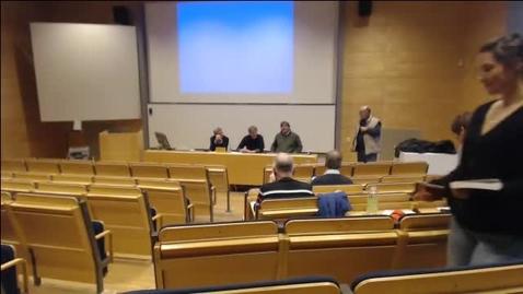 Thumbnail for entry Polisens organisering. Polisreformer i de nordiska länderna, 141112