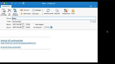 Miniatyr för inlägg Skype för företag - Webbklient för Mac