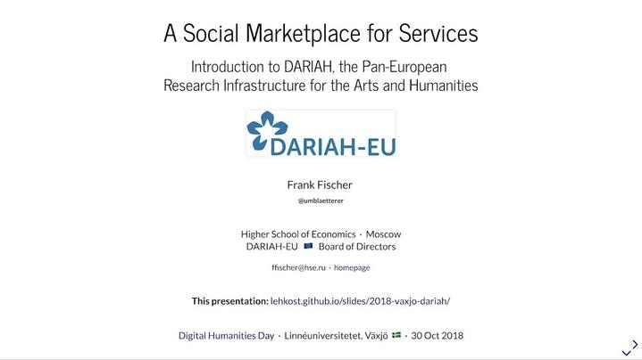 Omslagsbild för kanal Digital Humanities Seminars