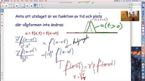 Thumbnail for entry Stående vågor osv