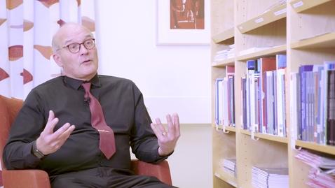 Miniatyr för mediepost Hans forskar om cancerdiagnoser