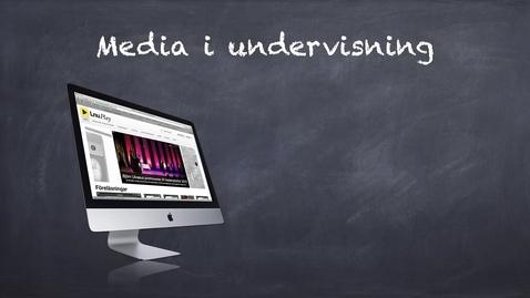 Thumbnail for entry 12 sätt att använda media i undervisningen