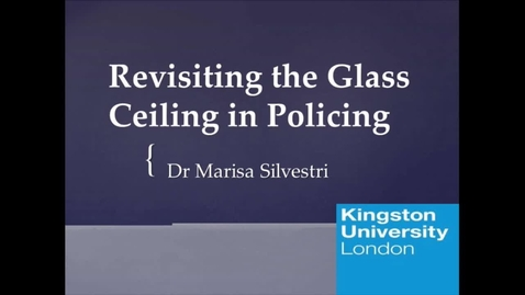 Thumbnail for entry Revisiting the Glass Ceiling in Policing