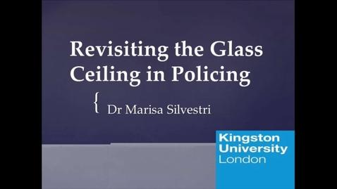Miniatyr för mediepost Revisiting the Glass Ceiling in Policing