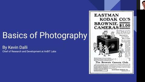 Miniatyr för inlägg 1ME311 - Lecture Photography