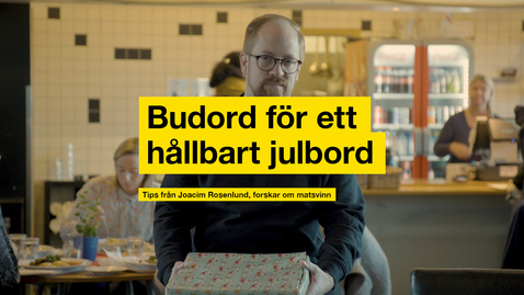 Thumbnail for entry Budord för ett hållbart julbord