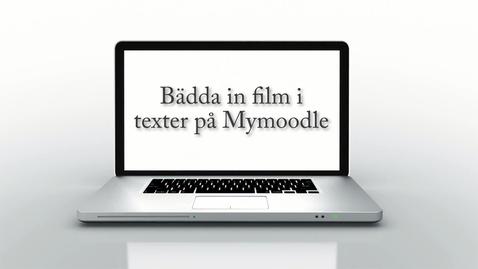 Miniatyr för mediepost Använda LnuPlay i forum i MyMoodle / Use LnuPlay in Forums