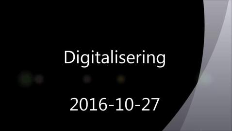 Miniatyr för mediepost Digitalisering inom svensk industri