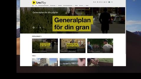 Miniatyr för mediepost Skapa kanaler på play.lnu.se / Create channels