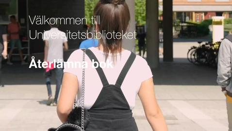 Thumbnail for entry Återlämna bok
