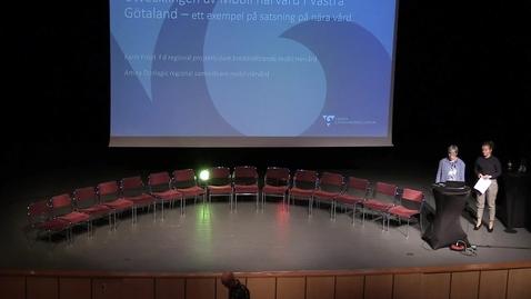 Miniatyr för inlägg Karin Fröjd, Amira Donlagic - Mobil närvård i Västra Götaland