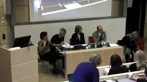 Thumbnail for entry Paneldebatt som leds av Catta Torhell - Bibliotekschef vid Linneuniversitetet