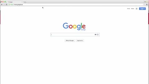 Miniatyr för inlägg Google för studenter - Hangouts