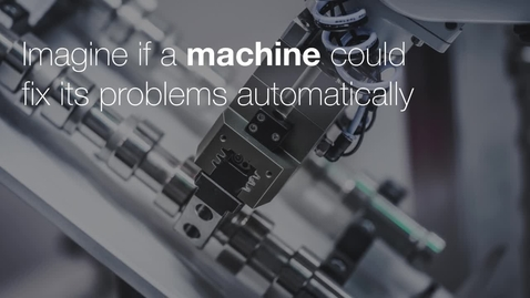 Miniatyr för mediepost Imagine if a machine could fix its problems automatically
