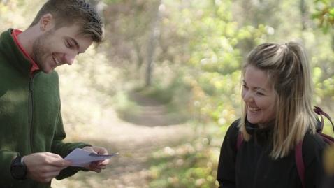 Miniatyr för mediepost Elin och Axel läser till ämneslärare i idrott och hälsa