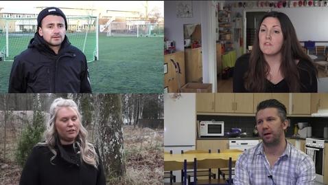 Miniatyr för mediepost Studenter berättar om sina utvecklingsinriktade examensarbeten