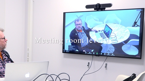 Miniatyr för mediepost Meeting rooms level 1 - en