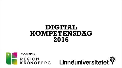 Miniatyr för mediepost DIGDAG - 2016
