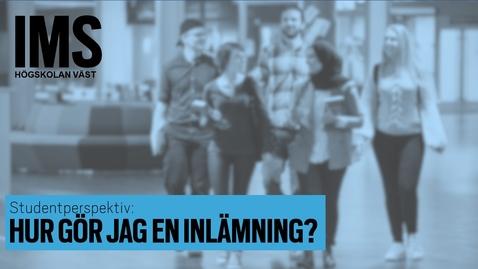 Thumbnail for entry Studentperspektiv: Hur gör jag en inlämning?/How do I submit an assignment?
