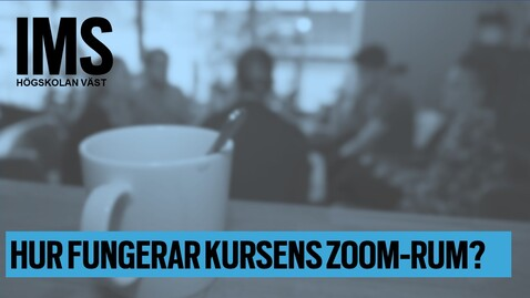 Thumbnail for entry Hur fungerar kursens zoom-rum?