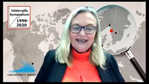 Thumbnail for entry Kristina Nyström - Uddevalla Symposium 2020