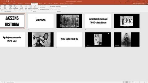 Thumbnail for entry Skärmdelning i Zoom - dela en del