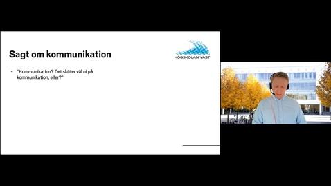 Thumbnail for entry KIR - Avdelningen för kommunikation och internationella relationer