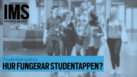 Thumbnail for entry Studentperspektiv: Hur fungerar studentappen?