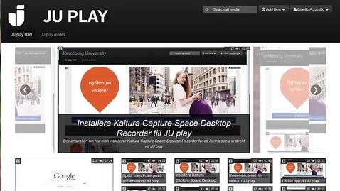 Thumbnail for entry Skapa interaktiva frågor i dina inspelningar