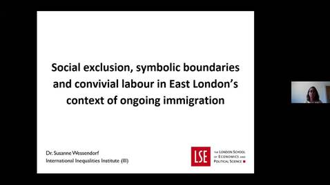 Thumbnail for entry Susanne Wessendorf Migration Society 2.0