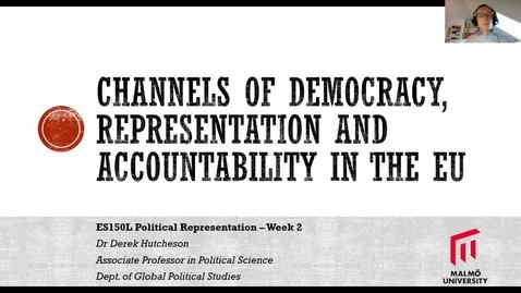Thumbnail for entry ES150L EU Democracy - channels of representation