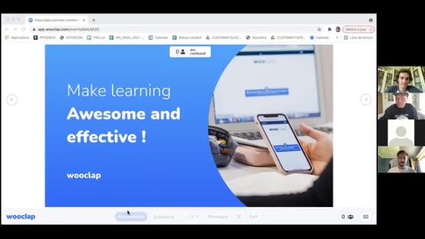 Thumbnail for entry Wooclap training – Make your lectures interactive