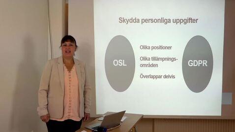 Thumbnail for entry Dataskyddsförordningen (GDPR)