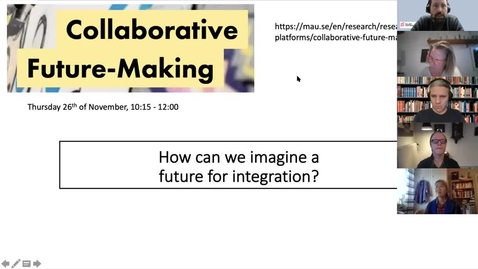 Thumbnail for entry Imagining a future for integration | A Collaborative Future-Making seminar