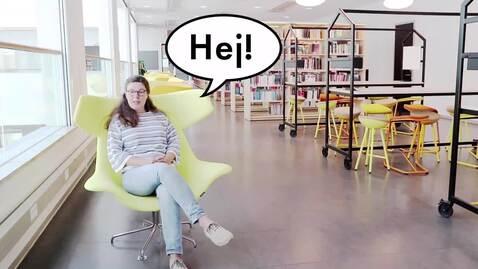 Thumbnail for entry Hej student! Välkommen till biblioteket
