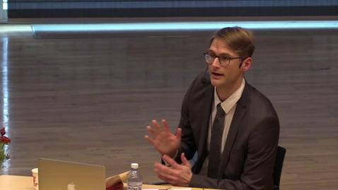 Thumbnail for entry Idrott som medel – inte som mål: Förutsättningar för socialt entreprenörskap inom idrotten | Daniel Bjärsholm