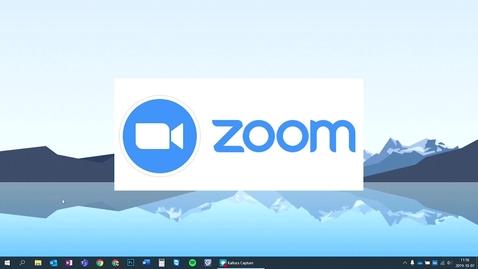 Thumbnail for entry Starta Zoom första gången