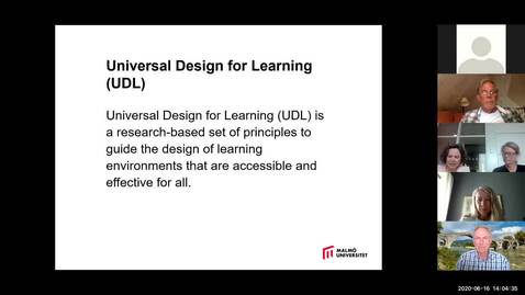 Thumbnail for entry Universal Design for Learning – UDL