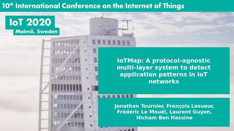 Thumbnail for entry IoTMap: A protocol-agnostic multi-layer system to detect application patterns in IoT networks