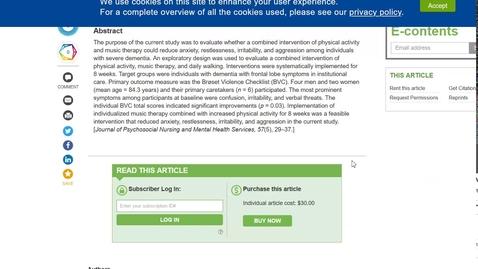 Thumbnail for entry PubMed - Tillgång till artiklar