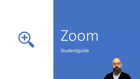 Thumbnail for entry Uppdatera Zoom - studentguide