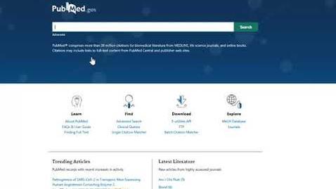 Thumbnail for entry PubMed - Tidskriftsförkortningar