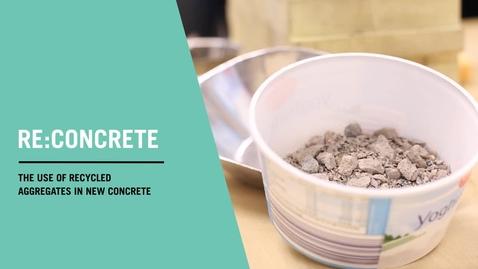 Miniatyr för inlägg Recycling of concrete