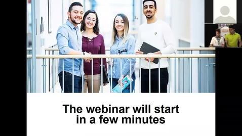 Miniatyr för inlägg Webinar for admitted students 2