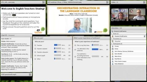 Miniatyr för inlägg Orchestrating interaction in the language classroom