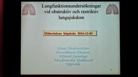 Miniatyr för inlägg Föreläsning Hans Hedenström 1